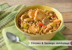 """""""To try to describe Louisiana traditions without mentioning jambalaya would be like trying to describe Paris, France without mentioning the Louvre or the Eiffel Tower."""" – OJ Frederic  Try this recipe featuring @Harvestland Fresh Boneless Skinless Chicken Breasts for a quick taste of #NOLA!"""