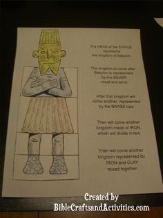 Statue Craft from Nebuchadnezzar's Dream