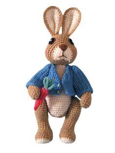 Robbie Rabbit Crochet Pattern