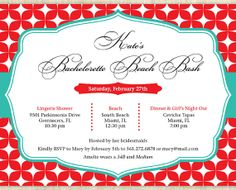 Printable Bachelorette Party Invitation, Bachelorette Party Invites, Lingerie Shower Invitation, Lingerie Party Invitation -Sparkling Beauty...