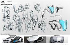 ADIDAS - Cricket innovation by pascal ruelle, via Behance