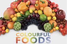 colourful foods infographic header