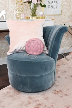 Pure Velvet Interior & Home Decoration Accent Chairs, Ottoman, Lounge, Velvet, Throw Pillows, Pure Products, Interior, Furniture, Home Decor