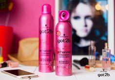 Сумасшедший объем укладки, яркий макияж, стильное платье и заводное настроение – вот составляющие успеха этого вечера. Если ты хочешь отрываться всю ночь и не волноваться за укладку - используй спрей-мусс и лак для волос got2b «Мегамания» #got2b #pink