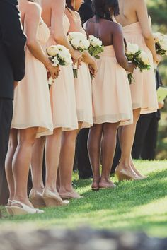 Love the angle of this Bridesmaids picture