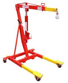 2 Ton Mobile Crane c/w Manual Hydraulic Model Number: 3900