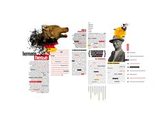 Doble página -Hermann Hesse on Behance