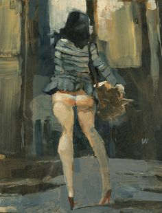 I love Ashley Wood. This dude's style is simple and to the point.