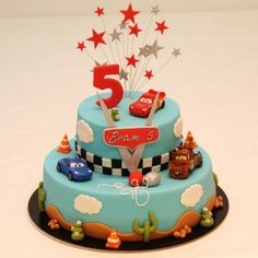 Birthday Cake Kids Boys Treats 63 Ideas For 2019 Birthday Cake Kids Boys, Cars Birthday Parties, Cool Birthday Cakes, Birthday Dinners, 2nd Birthday, Cupcakes, Cupcake Cakes, Birthday Dinner Invitation, Diy Gifts For Kids