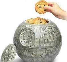 www.bbqlikeaboss.com Death Star Cookie Jar, a must for any home!