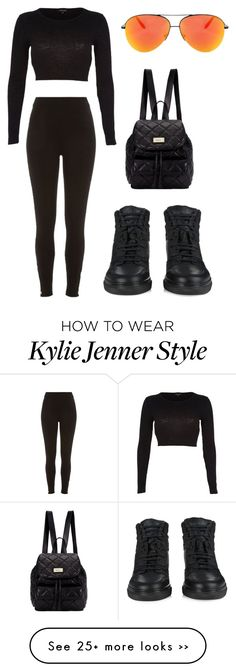 """This casual look Inspired by Kylie Jenner"" by northwood on Polyvore"