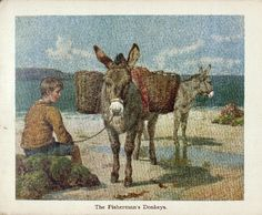 """""""Book of donkeys"""" 189?. Nister, Ernest ( Publisher ), E.P. Dutton (Firm) ( Publisher ). http://ufdc.ufl.edu/UF00080726/00001. University of Florida. Courtesy: © University of Florida George A. Smathers Libraries, Gainesville, FL (USA)."""