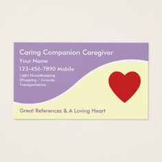 92 best home health aide images on pinterest business cards carte caregiver business cards colourmoves