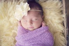 Newborn Flower Headband by PetuniaandIvy on Etsy, $12.00