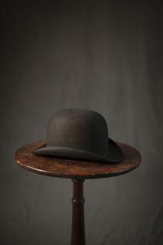 Last 19th Century Derby Hat Dunlap & Company Medium: wool