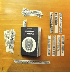 AFRIBOOKS by Gianluca Petrassi, via Behance