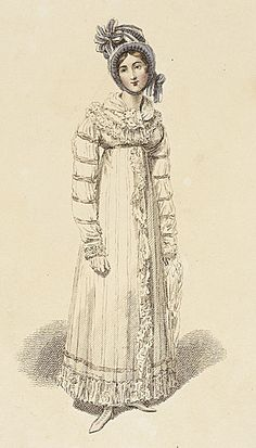 Morning walking dress 1816