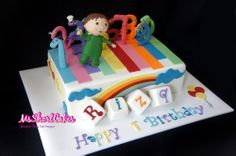 Charlie and the Numbers cake from BabyTV