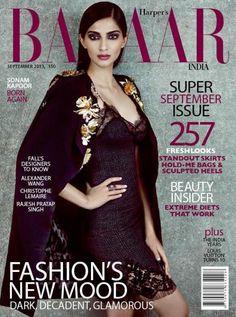 Super mode #SonamKapoor on Harpers Bazaar