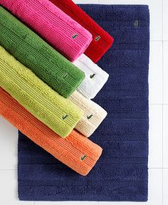 Lacoste Signature Logo Bath Towel 100 Terry Cotton Logos Tyxgb76aj This And Colors