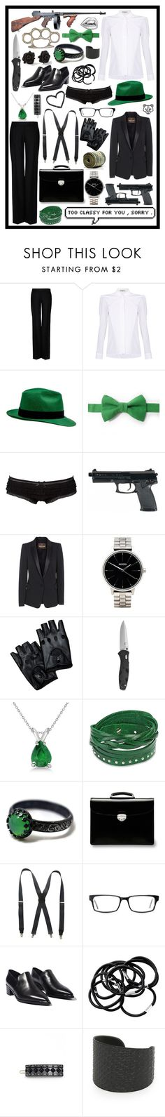 """""""she's got claws"""" by cupa1213 ❤ liked on Polyvore featuring TommyGuns, STELLA McCARTNEY, Balenciaga, Charlotte Russe, Roberto Cavalli, Nixon, Marc by Marc Jacobs, Allurez, West Coast Jewelry and Asprey"""
