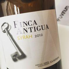 Finca Antigua Syrah 2012 (La Mancha) #vino #tinto #videocata #uvinum @fincaantigua