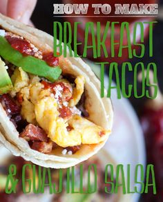Spicy Breakfast Tacos will show your hangover who's boss.