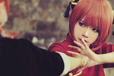 Gintama cosplay - Best Kagura ever