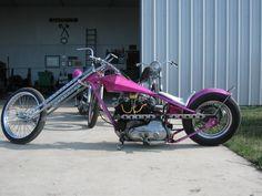 Horseman Joel H's Pink XL Digger Power Metal, Moto Guzzi, Digger, Ducati, Cool Cars, Old School, Harley Davidson, Bike, Retro