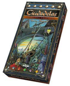 Ciudadelas, de Bruno Faidutti. Un clásico de los juegos de mesa con cartas.