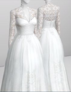 Sims 4 Wedding Dress, Weeding Dress, Sims 4 Mm Cc, Sims Four, Sims 4 Game Mods, Sims 4 Mods, Sims4 Clothes, Sims 4 Dresses, Sims 4 Characters