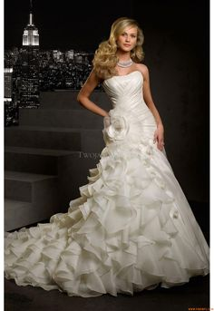 Vestidos de noiva Madeline Gardner 37005 2012