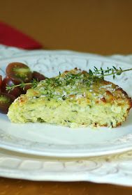 Savoring Time in the Kitchen: Baked Zucchini Pie
