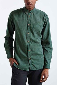 CPO Stevens Overdyed Shirt - Urban Outfitters