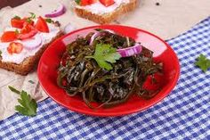 Sea weed is a rich source of vitamins and minerals. Since sea weed is grown deep under the sea with no fertilizers or human intervention, it is a healthy option Healthy Options, Vitamins And Minerals, Seaweed, Beef, Food, Meat, Essen, Meals, Yemek