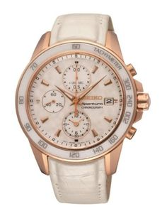 1001ea0c33e Seiko Women s SNDX98 Sportura Classic Chronograph Watch    You can find  more details by visiting