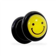 Fake Plug With Smiley Logo, 16 Ga