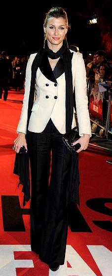 Bridget Moynahan..so hot in  menswear