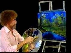 Bob Ross - Twilight Meadow - Painting Video