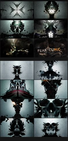 Fear Clinic - Nate Howe Freelance Design + Art Direction