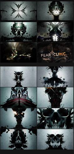Fear Clinic - Nate Howe Freelance Design + Art Direction