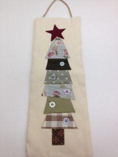 Árbol de Navidad en patchwork. BLUA