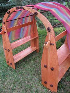 beautiful playstand, walnut, oak, and cherry wood