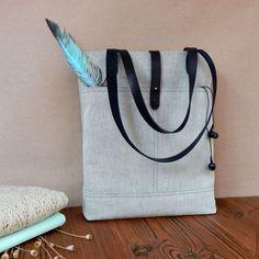 Купить Сумка джинсовая серая - серый, чернобелый, монохром, джинсовая сумка, джинсовая ткань