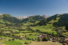 Gstaad: World-renowned, sophisticated traffic-free chalet village