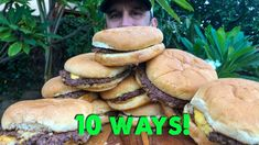 In this Ultimate Smash Burger Video I am going to show you 10 different ways to make perfect smash burgers. These are techniques from famous and iconic burger joints from across the country. Places like Shake Shack, Smashburger, Schoops, and Red Hot Ranch to name just a few! I cooked all ten burgers up on the Blackstone Griddle.