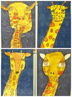 Love these Giraffes by Colors of My Day