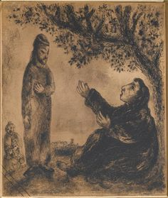 Deborah the prophet, Marc Chagall