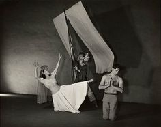 "Martha Graham, ""El Penitente"" (Festival), 1940 (Trio: Graham, Cunningham and Hawkins) Martha Graham, El Penitente (Festival)"