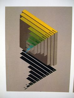 Graphis Diagrams 1 #infographics #barchart #shadow